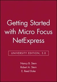 Getting Started with Micro Focus NetExpress