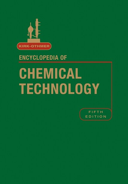 Kirk-Othmer Encyclopedia of Chemical Technology, Volume 24 by Kirk-Othmer