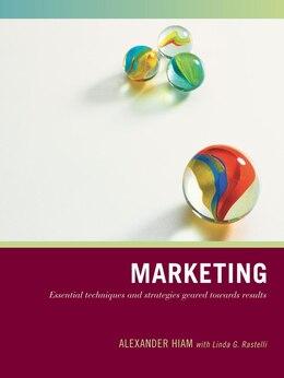 Book Wiley Pathways Marketing by Alexander Hiam