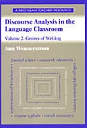 Discourse Analysis in the Language Classroom: Volume 2. Genres of Writing