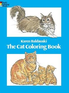 The Cat Coloring Book