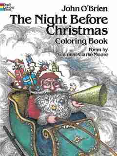 The Night Before Christmas Coloring Book by John O'brien