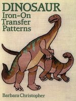 Dinosaur Iron-on Transfer Patterns