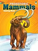 Book Prehistoric Mammals Coloring Book by Jan Sovak