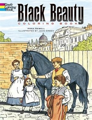 Black Beauty Coloring Book by Anna Sewell