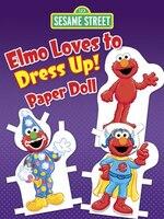 Sesame Street Elmo Loves to Dress Up! Paper Doll