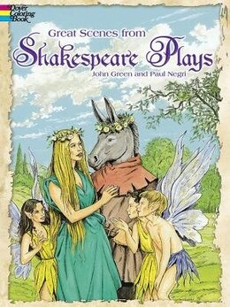 Book Great Scenes from Shakespeare's Plays by John Green