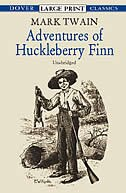 Book Adventures of Huckleberry Finn by Mark Twain