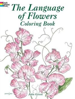 Book The Language Of Flowers Coloring Book by John Green