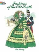 Book Fashions of the Old South Coloring Book by Tom Tierney