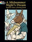 Book A Midsummer Night's Dream Stained Glass Coloring Book by John Green