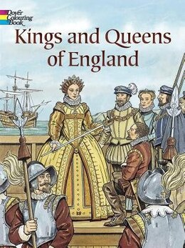 Book Kings and Queens of England by John Green