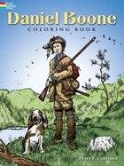 Daniel Boone Coloring Book