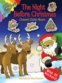 Book The Night Before Christmas: Coloring and Sticker Fun! by Clement Clarke Moore