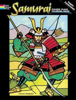 Book Samurai Stained Glass Coloring Book by John Green