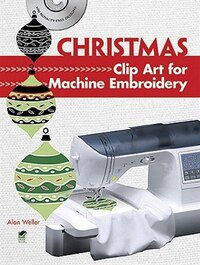 Christmas Clip Art for Machine Embroidery