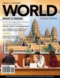 World (with Review Cards And History Coursemate With Ebook, Wadsworth World History Resource Center…