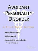 Book Avoidant Personality Disorder - A Medical Dictionary, Bibliography, And Annotated Research Guide To by .. Icon Health Publications