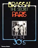 Book Secret Paris Of The 30s by Brassai