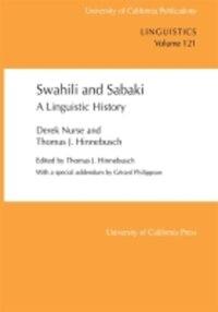 Swahili and Sabaki: A Linguistic History