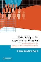Power Analysis For Experimental Research: A Practical Guide For The Biological, Medical And Social…