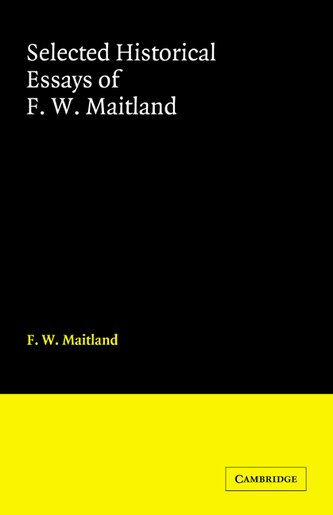 maitland selected essays Buy maitland - selected essays first edition hardback dust jacket by h d et al hazeltine (isbn: ) from amazon's book store everyday low prices and free delivery.