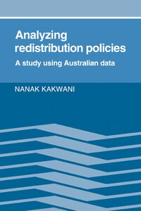 Analyzing Redistribution Policies: A Study Using Australian Data