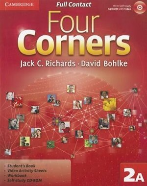 Four Corners Level 2 Full Contact A with Self-study CD-ROM by Jack C. Richards