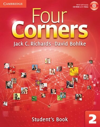 Four Corners Level 2 Students Book with Self-study CD-ROM by Jack C. Richards