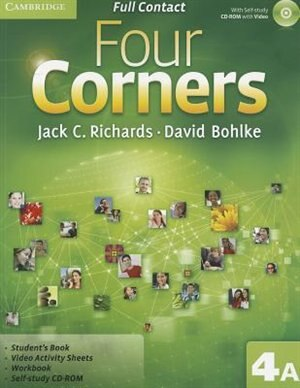 Four Corners Level 4 Full Contact A with Self-study CD-ROM by Jack C. Richards