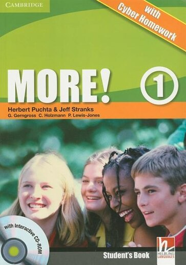 More! Level 1 Students Book with Interactive CD-ROM with Cyber Homework by Herbert Puchta