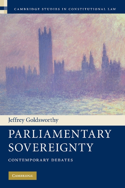 parliamentary sovereignty in theory and in