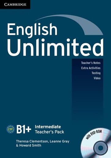 English Unlimited Intermediate Teachers Pack (Teachers Book with DVD-ROM) by Theresa Clementson