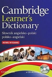 Cambridge Learners Dictionary English-Polish with CD-ROM: Słownik Angielsko-Polski by Na
