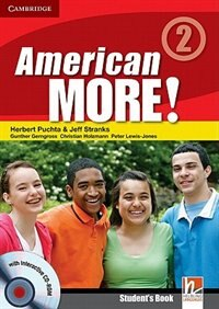 American More! Level 2 Students Book with CD-ROM by Herbert Puchta
