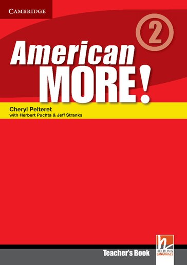 American More! Level 2 Teachers Book by Cheryl Pelteret