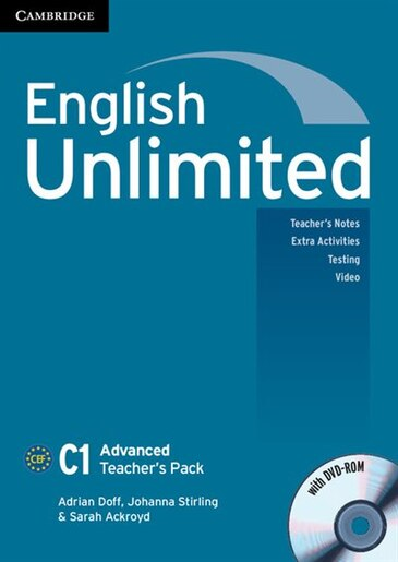 English Unlimited Advanced Teachers Pack (Teachers Book with DVD-ROM) by Adrian Doff