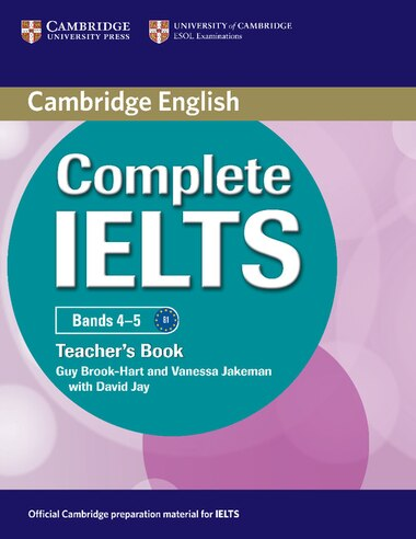 Complete IELTS Bands 4-5 Teachers Book by Guy Brook-Hart