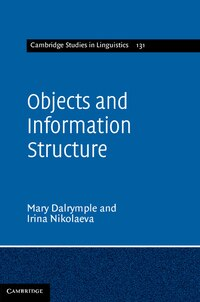 Objects and Information Structure
