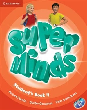 Super Minds Level 4 Students Book with DVD-ROM by Herbert Puchta