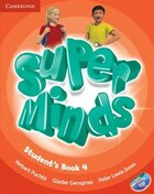 Super Minds Level 4 Students Book with DVD-ROM