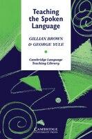 Teaching the Spoken Language: Teaching The Spoken Language