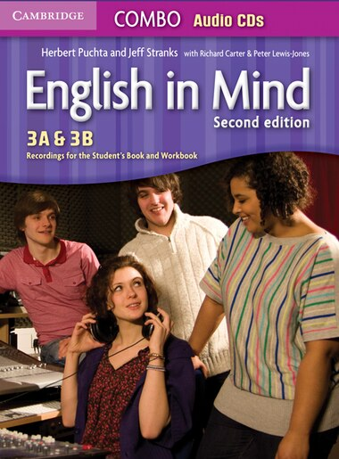 English in Mind Levels 3A and 3B Combo Audio CDs (3) by Herbert Puchta