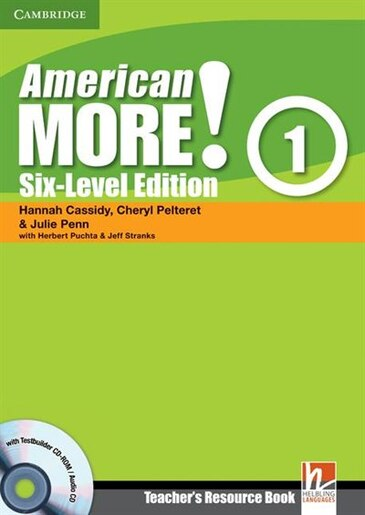 American More! Six-Level Edition Level 1 Teachers Resource Book with Testbuilder CD-ROM/Audio CD by Hannah Cassidy