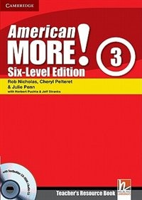 American More! Six-Level Edition Level 3 Teachers Resource Book with Testbuilder CD-ROM/Audio CD by Rob Nicholas