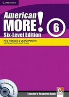 American More! Six-Level Edition Level 6 Teachers Resource Book with Testbuilder CD-ROM/Audio CD