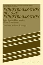 Industiarlization before Industiarlization