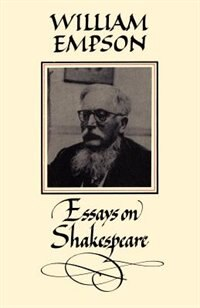 William Empson: Essays on Shakespeare