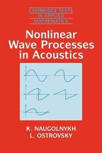 Book Nonlinear Wave Processes In Acoustics by K. Naugolnykh