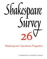 Shakespeare Survey: SHAKESPEARE SURVEY